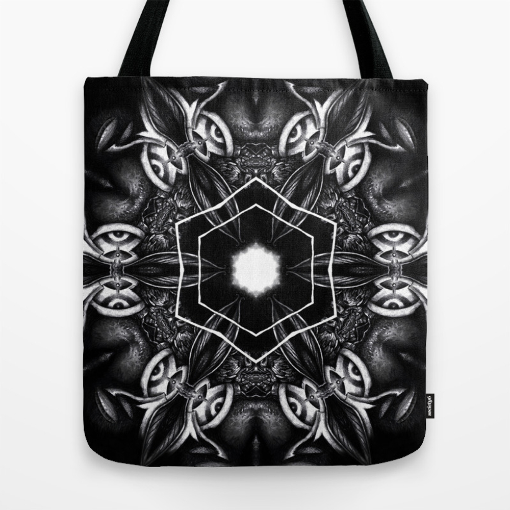 Psyme B&w 2 Tote Purse by Indusmind (TBG9759638) photo
