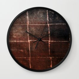 Woven Decay Wall Clock