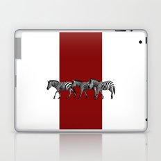 Lined Zebras Laptop & iPad Skin