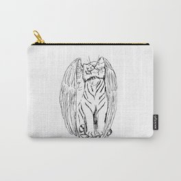 Tale of the Winged Tiger Carry-All Pouch