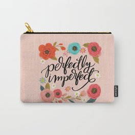 Pretty Not-So-Sweary: Perfectly Imperfect Carry-All Pouch