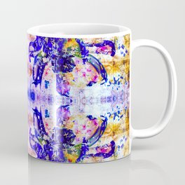 Shattered Blues Coffee Mug