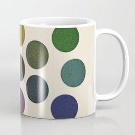 'Parsons' Spectrum Color Chart' 1912, Remake 2 (enhanced) Coffee Mug
