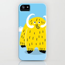 Mammoth Monster iPhone Case