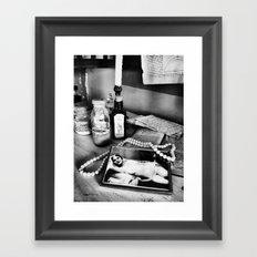 Sweet nothings Framed Art Print