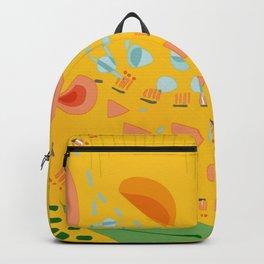 Yellow sunshine darling | Home decor | Happy art Backpack