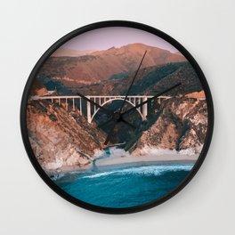 Big Sur, California Travel Artwork Wall Clock