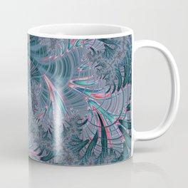 Teal Fractal Coffee Mug