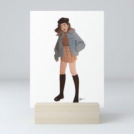 Miss October Mini Art Print