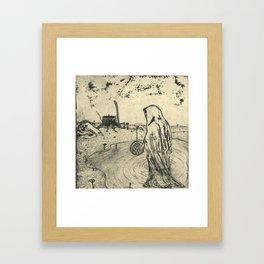 Illusions of Myth (Teeth) Framed Art Print