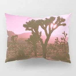 Rosy Haze In Joshua Tree Pillow Sham