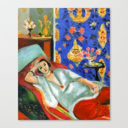 Henri Matisse Odalisque in Red Trousers Canvas Print
