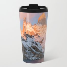 Fitz Roy at Sunrise Travel Mug