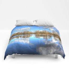 Lake Reflections Comforters
