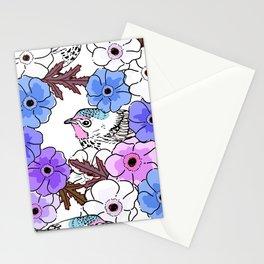 Cute bird 025 Stationery Cards
