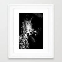 prometheus Framed Art Prints featuring Prometheus by Kyle Shaw Designs