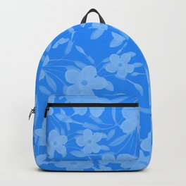 Forget-Me-Not Flowers in Blue Backpack