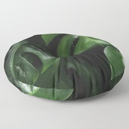 Monstera Plant Floor Pillow