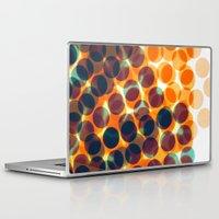 dots Laptop & iPad Skins featuring Dots by Yordanka Poleganova