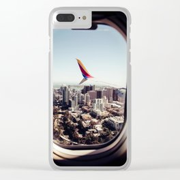 Airplane Clear iPhone Case