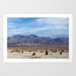 Death Valley 1 Art Print