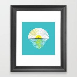 Morning Sounds Framed Art Print