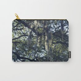 sunlight and moss in the trees Carry-All Pouch