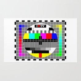 I love TV Rug