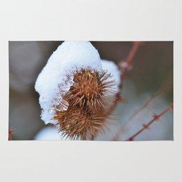 Snowy Burrs Rug