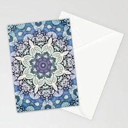winter  Mandala Stationery Cards