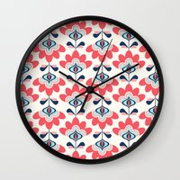 bianca Wall Clocks featuring Bianca by Just Kate Designs