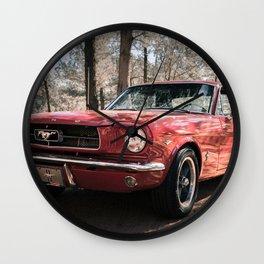 Classic Muscle Car Wall Clock