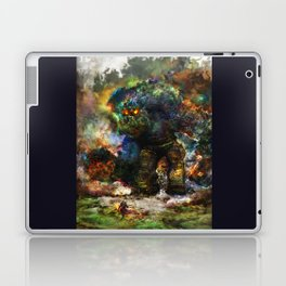 shadow of the witcher Laptop & iPad Skin