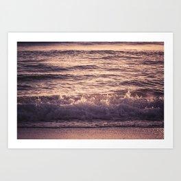 Atlantic Ocean Waves 4195 Art Print