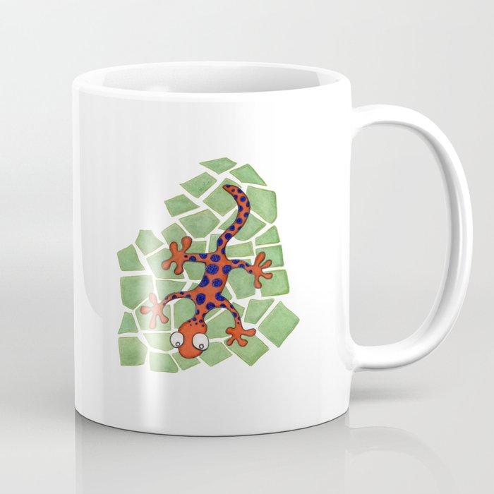 Amusing orange lizard Coffee Mug