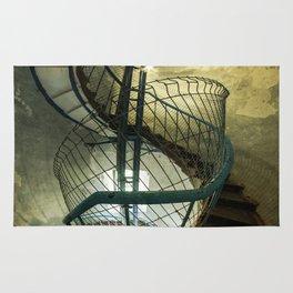 Inside the old lighthouse Rug