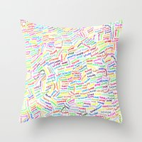 500 days of summer Throw Pillows featuring (500) DAYS OF SUMMER by David