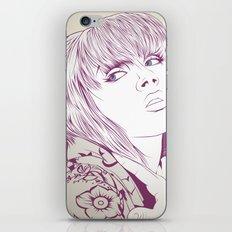 Thinking about something iPhone & iPod Skin