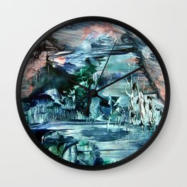 ICE LandsCape Wall Clock