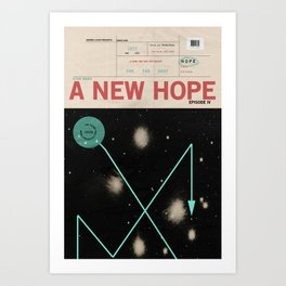 Hope, Empire, Return Art Print