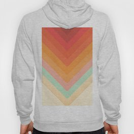 Rainbow Chevrons Hoody
