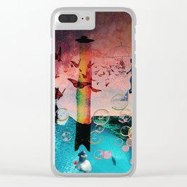 Love Sick Dream Clear iPhone Case