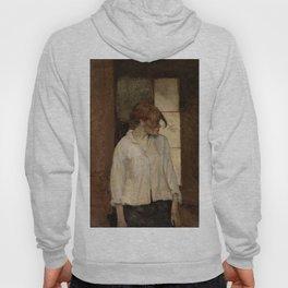 """Henri de Toulouse-Lautrec """"At Montrouge ( Rosa la Rouge)"""" Hoody"""