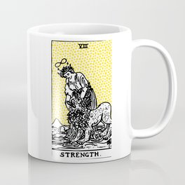 Modern Tarot Design - 8 Strength Coffee Mug