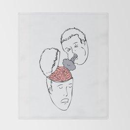 Mind Blown Throw Blanket