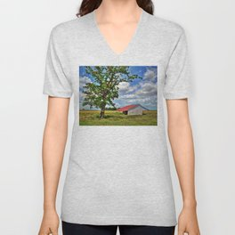 Richmond Farm Unisex V-Neck