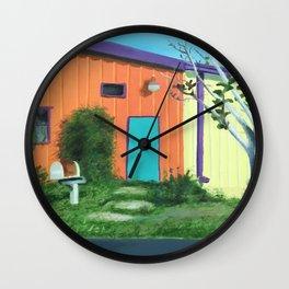 Railroad Square Wall Clock