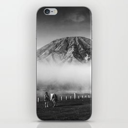 Man On The Desert iPhone Skin