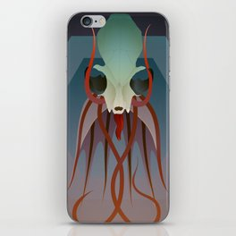 Pried In V iPhone Skin