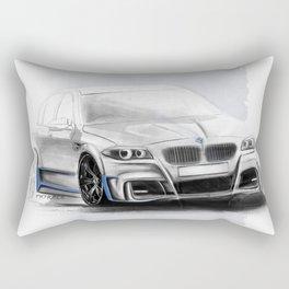 Bavarian car M5 F10 Artrace body-kit Rectangular Pillow